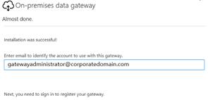 On-premises Data Gateway Owner