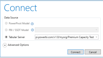 Connecting to Power BI Premium from DAX Studio with XMLA endpoint