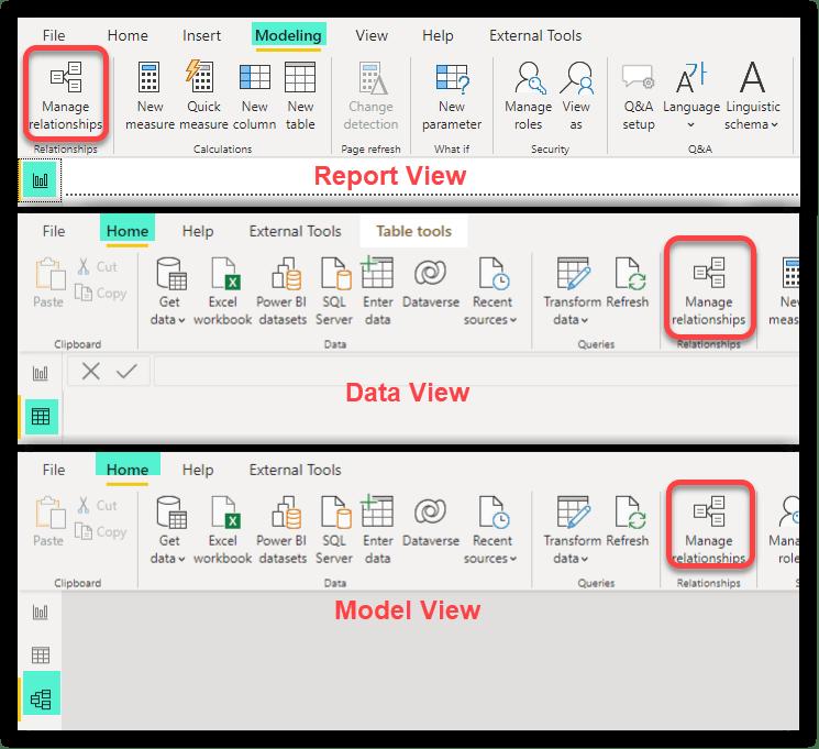 Manage Relationships in Power BI Desktop