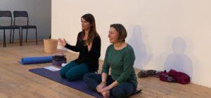 Danila e Mila Bija Centro Yoga Roma Casalpalocco