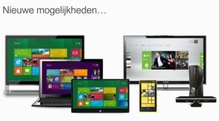 Nieuwe mogelijkheden Windows