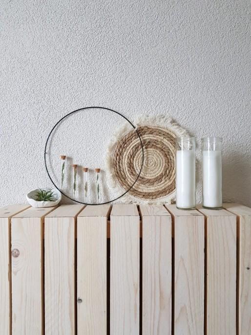 hal inspiratie met zelfgemaakte radiator ombouw