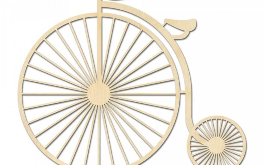 geometrische vormen fiets