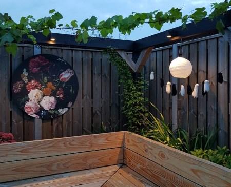 tuintrends 2021 Muurdecoratie tuin