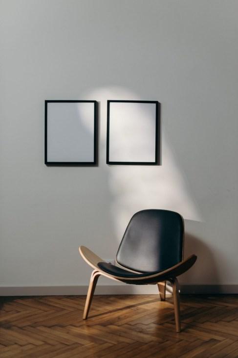 visgraat vloer in modern interieur