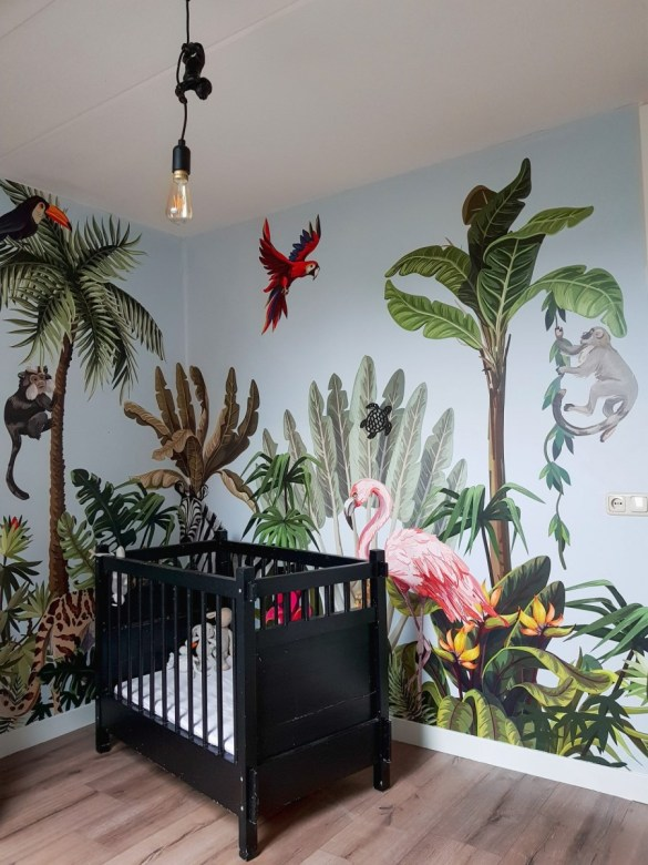 jungle kamer maken