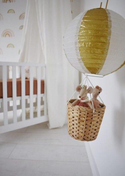 luchtballon babykamer