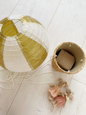 luchtballon zelf maken kinderkamer