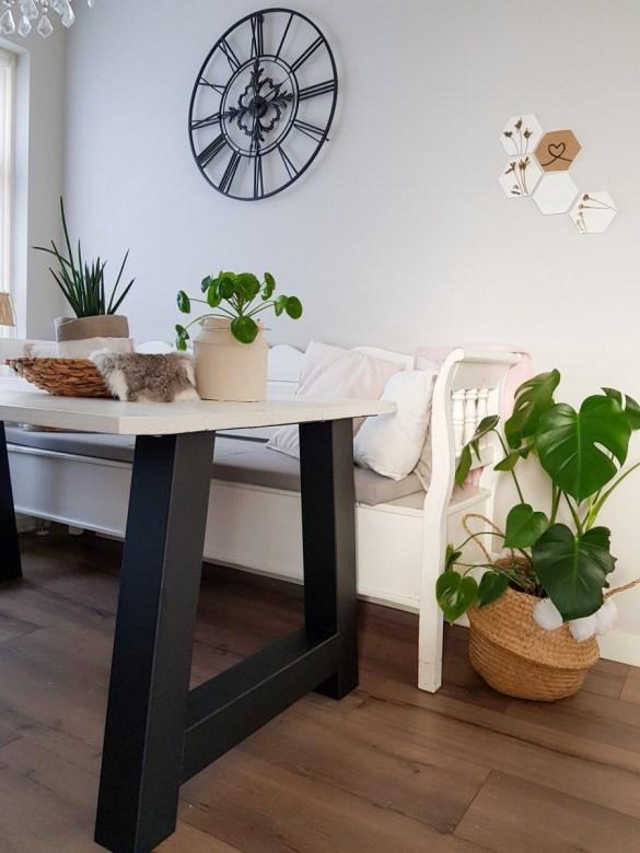 tafelpoten zelf vervangen