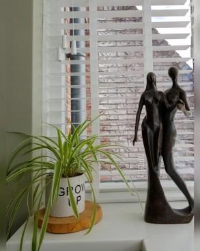 bronzen beeld in je interieur