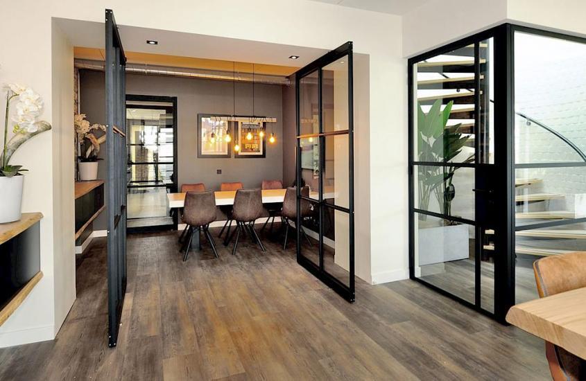 Steellook deur als goedkoop alternatief voor een stalen deur
