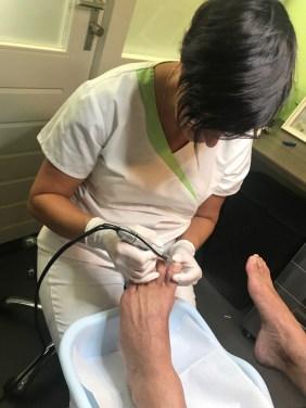 pedicure behandeling nagels vijlen