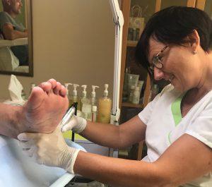 Basis pedicure behandeling