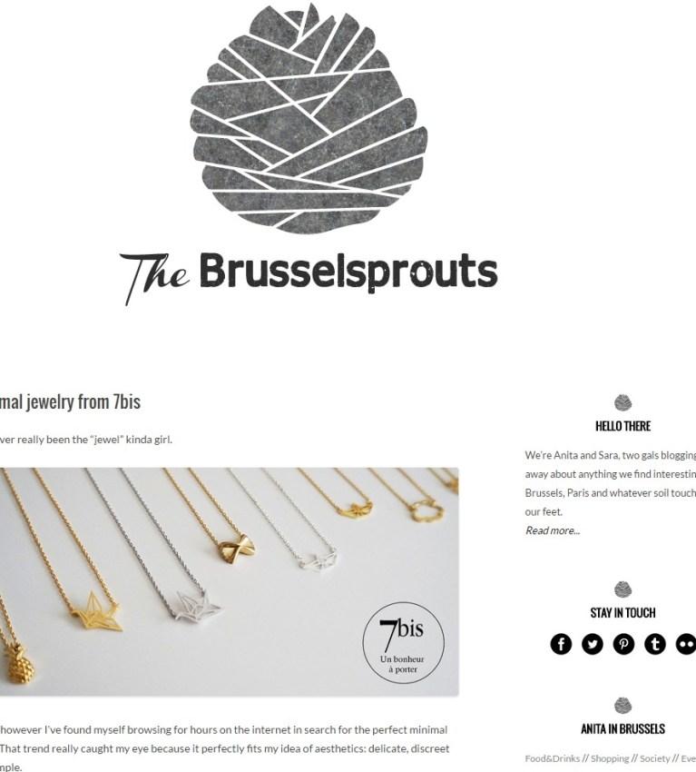 Bijoux 7bis Paris - The Brusselsprouts
