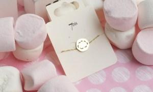 Bijoux 7bis Paris - Bracelet doré nuage