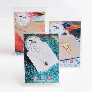 Bijoux 7bis Paris - Packaging