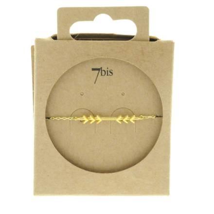 370584DOR Bracelet Flèches Doré Convergente Indian Spirit