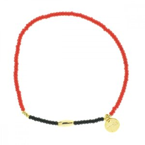 330010D Bracelet mix and match rouge doré collection idees cadeaux