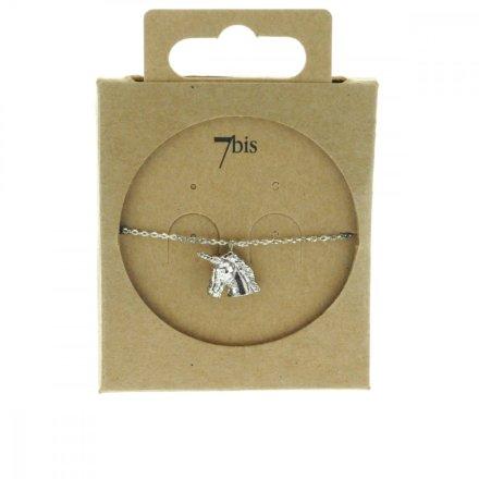 370286ARG Bracelet Licorne Argenté Figurine Délicate