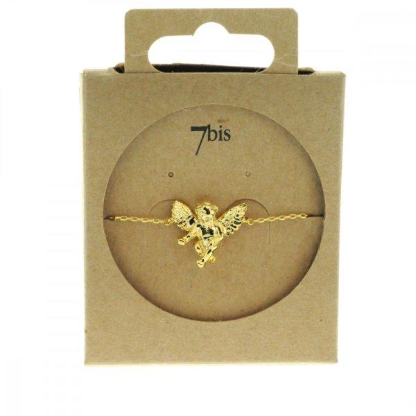 329272DOR Bracelet Ange Or Ailé Miniature