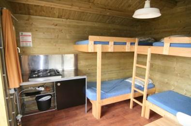 Bijzondere Overnachting Origineel Overnachten Slapen in een trekkershut op Texel3