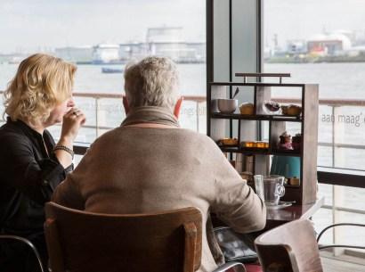 Bijzondere Overnachting Origineel Overnachten Uitzicht over de Maas bij het Delta Hotel in Vlaardingen23