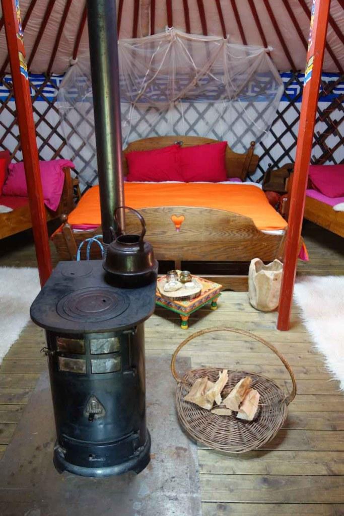 Origineel overnachten in een Mongoolse Yurt8