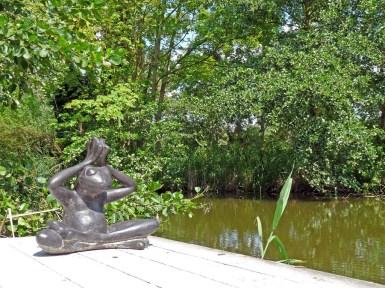 Bijzondere Overnachting Origineel Overnachten Slapen in een romantische waterhut Vreemde Vogel Vlaardingen4
