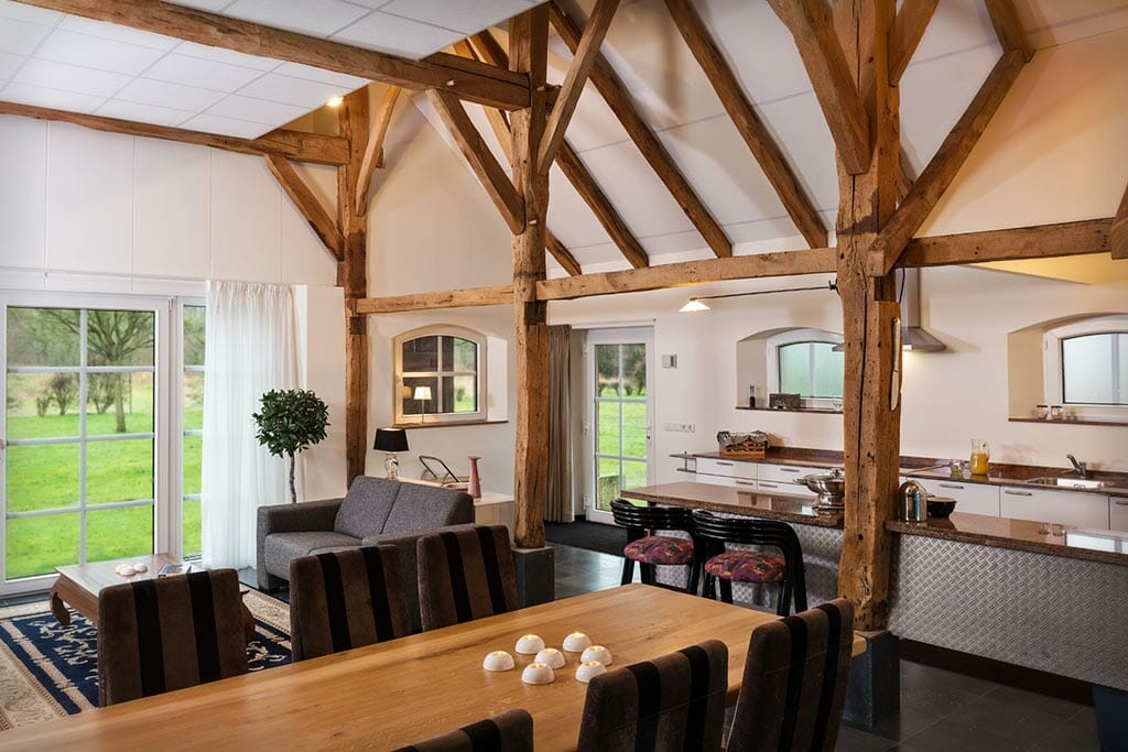 Bijzondere Overnachting Slapen op landgoed de Weldaed in Aalten Romantiscshe Wellness villa1