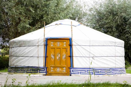 Sfeervol overnachten in een Yurt in Drenthe