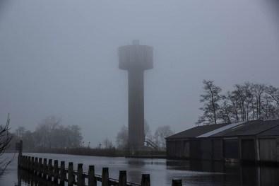 Bijzondere Overnachting Origineel Overnachten Slapen in de Watertoren van Nes Friesland24