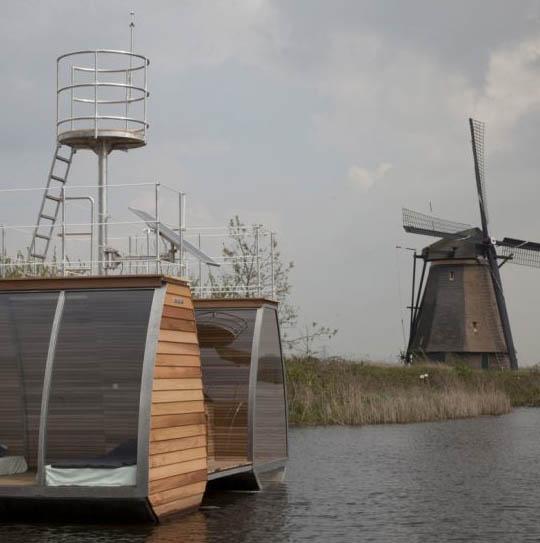 Origineel Overnachten Bijzondere Overnachting Slapen op een ecolodge woonboot in de Biesbosch9