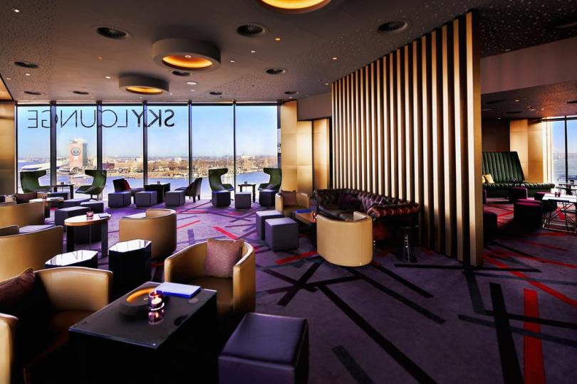 Bijzondere Overnachting Origineel Overnachten Double Tree by Hilton Hotels met prachtig uitzicht over Amsterdam12