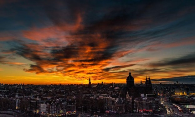 Bijzondere Overnachting Origineel Overnachten Double Tree by Hilton Hotels met prachtig uitzicht over Amsterdam20