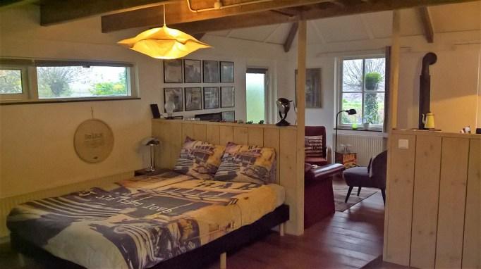 Bijzondere Overnachting Origineel Overnachten Slapen in Bed and Breakfast Garage Inn in het Brabantse Hank3