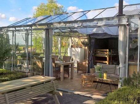 Slapen in een kas – De KasInn in het Brabantse Hank