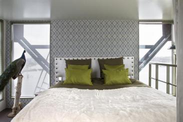 Bijzondere Overnachting Origineel Overnachten Slapen in het Faralda kraanhotel Amsterdam10