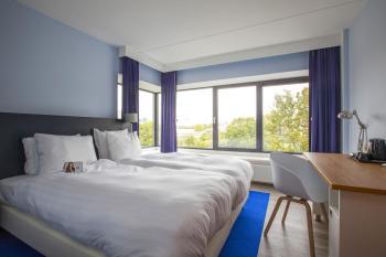 Bijzondere Overnachting Origineel Overnachten Uitzicht over de Maas bij het Delta Hotel in Vlaardingen19