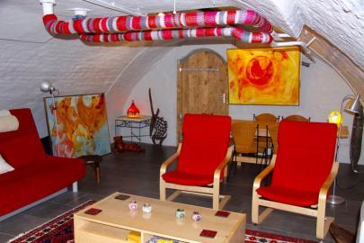 Bijzondere Overnachting Origineel Overnachten Kunstzinnig appartement in Utrechtse werfkelder4