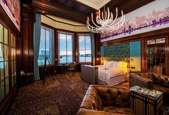 Bijzondere Overnachting Origineel Overnachten Slapen in Hotel New York te Rotterdam21