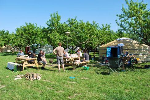 Bijzondere Overnachting Origineel Overnachten Slapen in een Mongoolse Yurt of Ger langs de Rijn1