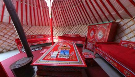 Bijzondere Overnachting Origineel Overnachten Slapen in een Mongoolse Yurt of Ger langs de Rijn13