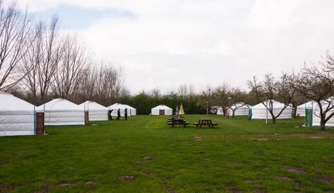 Bijzondere Overnachting Origineel Overnachten Slapen in een Mongoolse Yurt of Ger langs de Rijn5