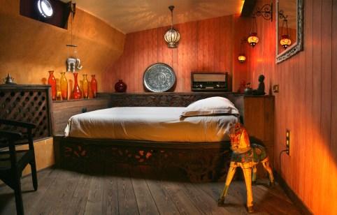Bijzondere Overnachting Origineel Overnachten Slapen op Bed and Breakfast schip Opoe Sientje Nijmegen16