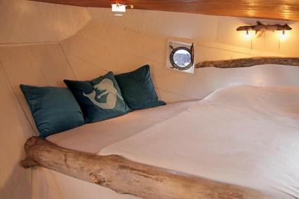 Bijzondere Overnachting Origineel Overnachten Slapen op Bed and Breakfast schip Opoe Sientje Nijmegen19