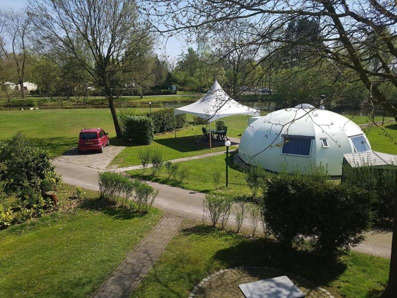 Bijzondere Overnachting Origineel Overnachten slapen in een iglo Nederland6