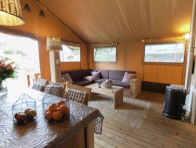 Bijzondere Overnachting Origineel Overnachten Slapen in een luxe Sea Lodge in de duinen van Egmond aan Zee8