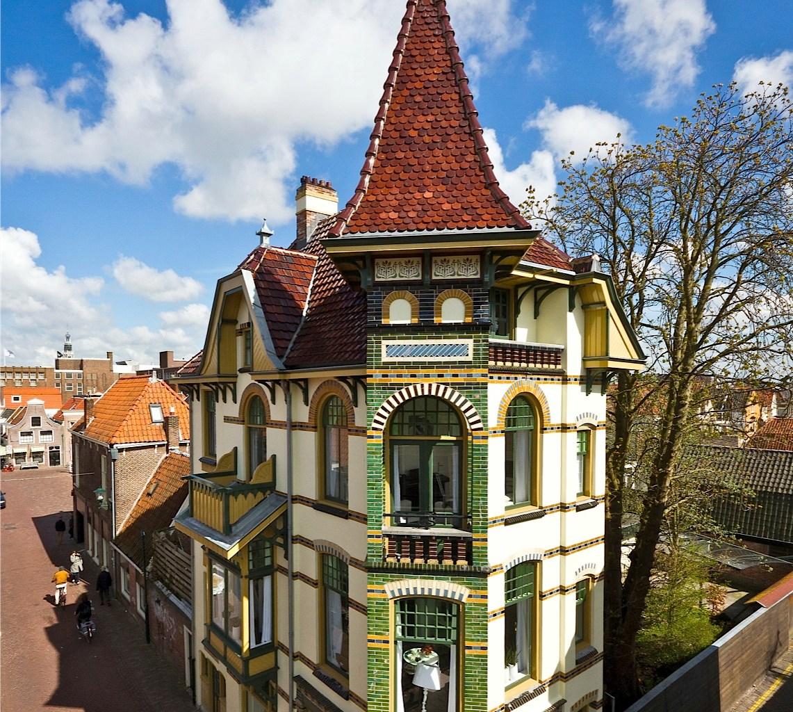 Slapen in een mini-kasteel in Alkmaar