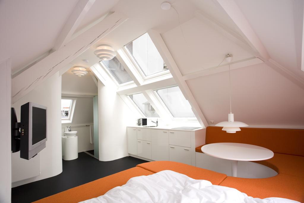Slapen in een trendy design appartement in het centrum van Den Haag