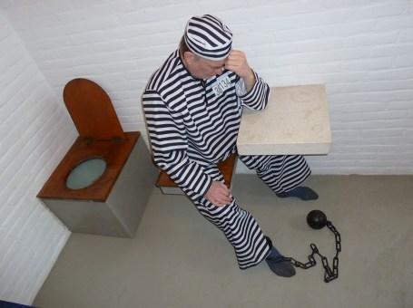 Slapen in gevangenis De Baaies in Makkum